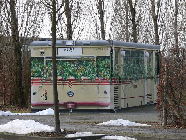 Straßenbahn-Trafohaus