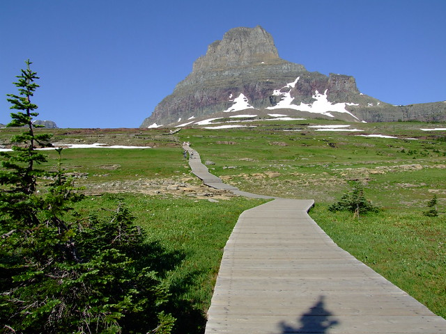 Boven Logas Pass: de wandeling naar The Hidden Lake