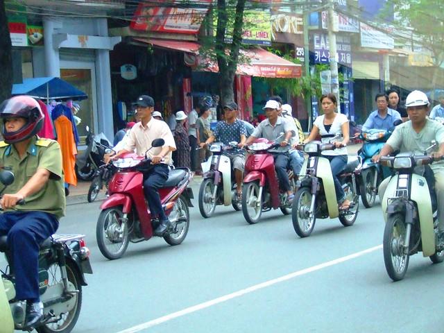 Bikes, bikes everywhere