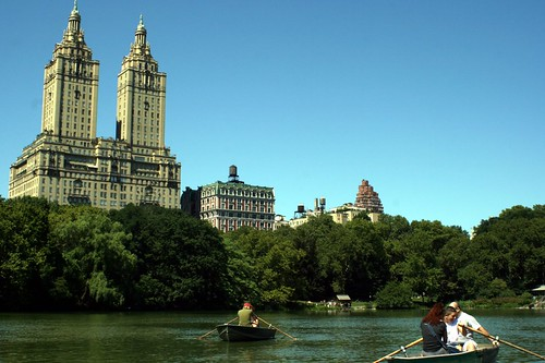 the Lake; Central Park