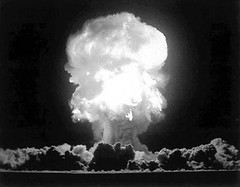 Atomexplosion 1945. Foto: Thomas Williams (CC BY-SA 2.0)