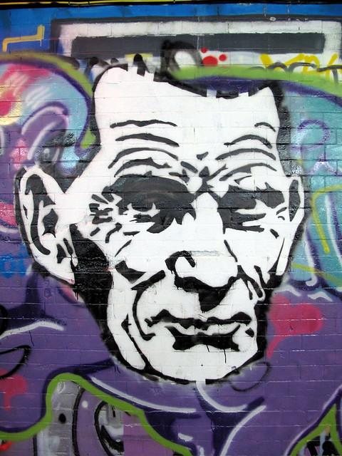 Samuel Beckett graffiti