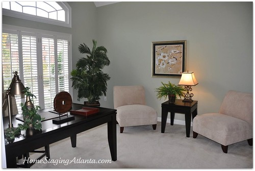 home staging atlanta a vacant home transformation before and after pictures included. Black Bedroom Furniture Sets. Home Design Ideas