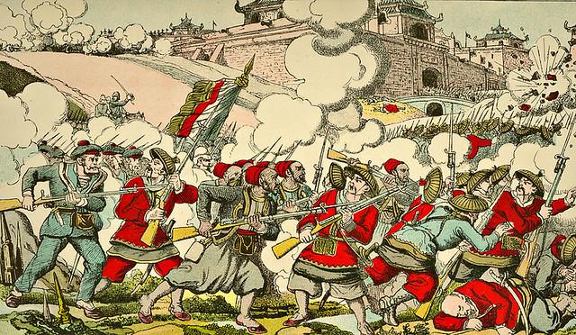 Quân Pháp hạ thành Bắc Ninh năm 1884