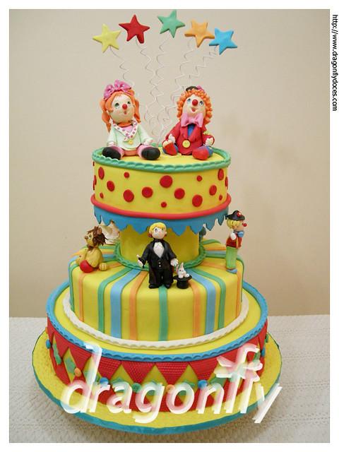 Circus Cake / Bolo Circo