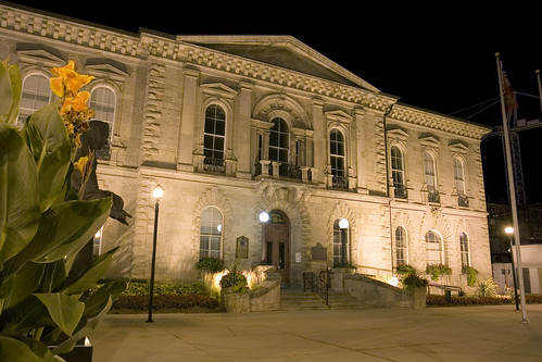 Guelph City Hall at Night by Rockin' Ray