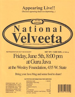 National Velveeta - flyer - 6/5/1992