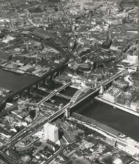 Newcastle Tyne Bridges, 19th June 1967