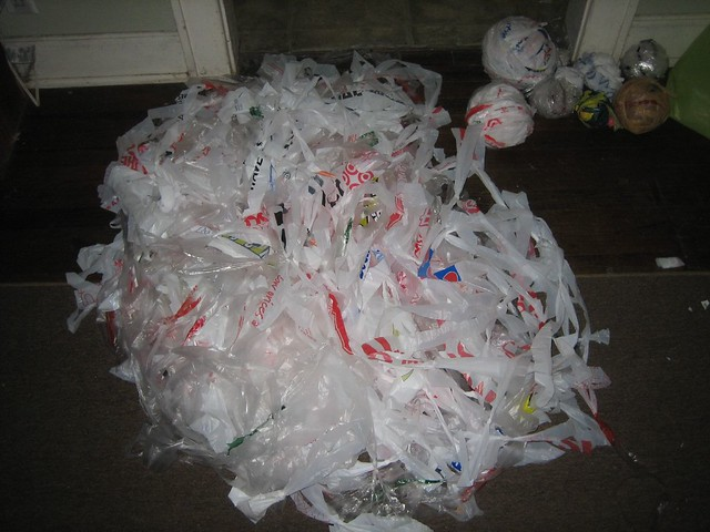 Crocheting Using Plastic Bags : Crocheting Plastic Bags Flickr - Photo Sharing!
