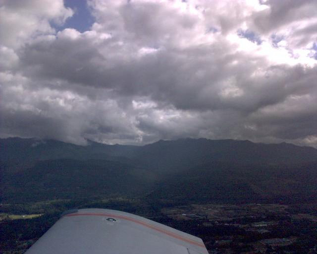 clouds over the olympics