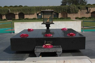 Pay your homage to the Mahatma at Rajghat - Things to do in New Delhi