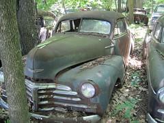 automobile, automotive exterior, vehicle, plymouth deluxe, compact car, antique car, classic car, vintage car, land vehicle, motor vehicle,