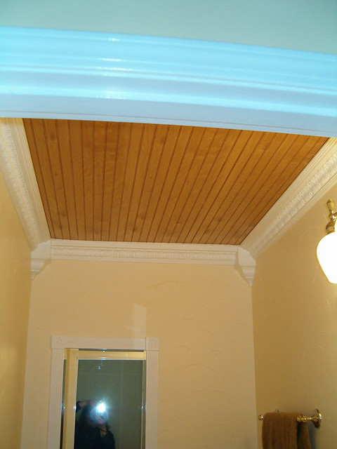 After - Ceiling- beadboard paneling | Flickr - Photo Sharing!