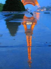 Rainy evening in Paris