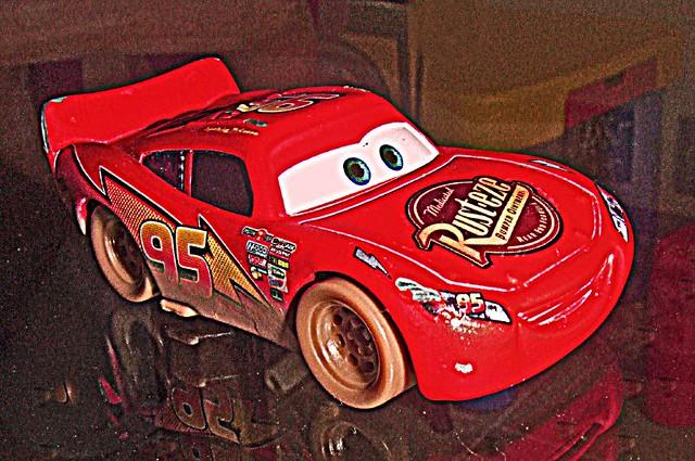Cars  Lightning Mcqueen With Hudson Hornet Piston Cup