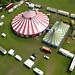 Aerial Photography of Cirque Surreal Preston Park Brighton 2007