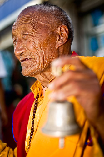 old monk telling fortunes