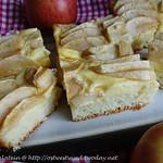 Bild zu Rezept ©Apfelkuchen mit Pudding