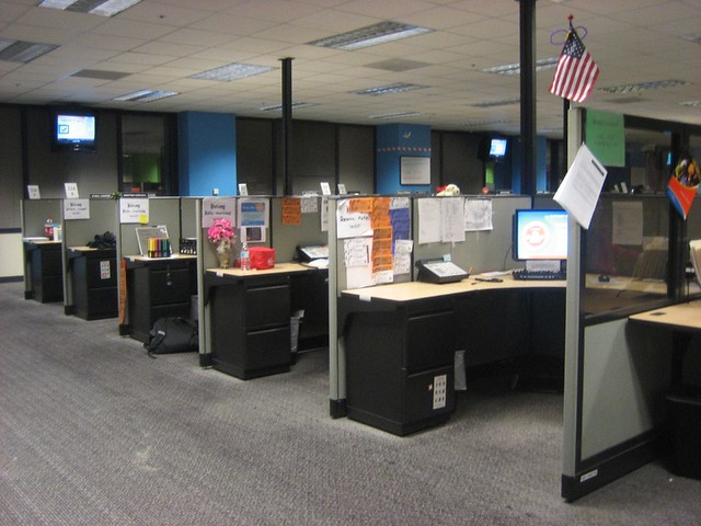 Cubicle A Gallery On Flickr