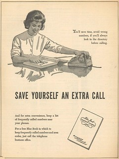 Save yourself an extra call (1962)