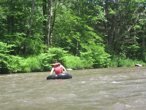 Tubing the Esopus Creek