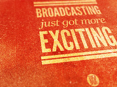 Broadcasting poster