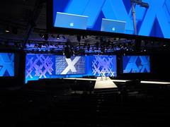 stage, display device, flat panel display, blue,