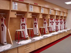 University of Hartford - Men's and Women's Basketball Wood Lockers 8