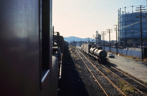 railroad usa geotagged newjersey unitedstates riverside caboose erie paterson hack lackawanna freighttrain geo:lat=4093253067 geo:lon=7416017175