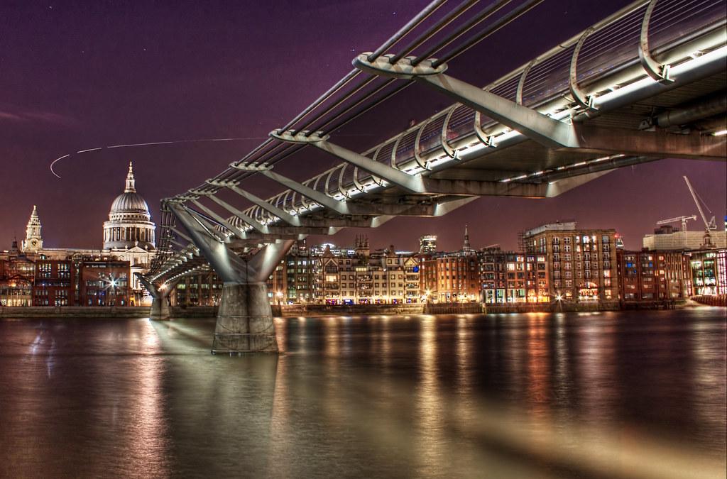 [组图] 伦敦千禧桥 泰晤士河上的银带(16P) - 路人@行者