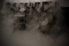 white, smoke, monochrome photography, close-up, monochrome, darkness, black-and-white, black,