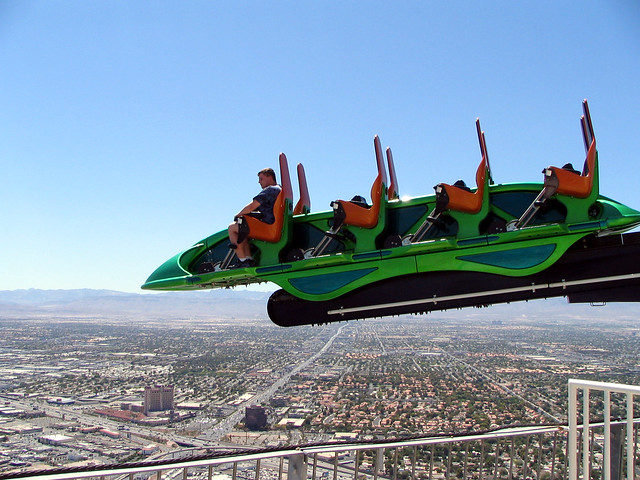 X Scream at Las Vegas Stratosphere Tower | Flickr - Photo ...