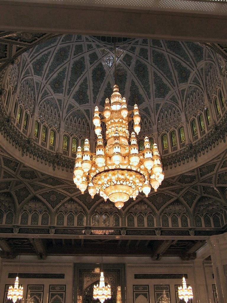 The Sultan Qaboos Grand Mosque Interior