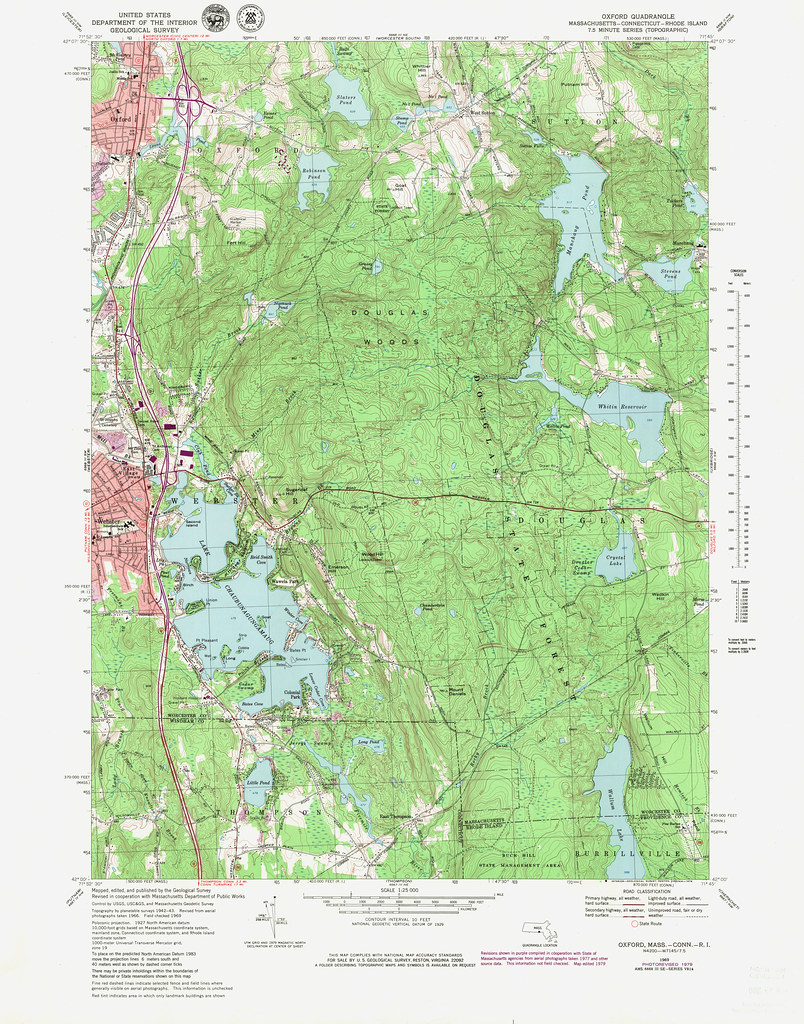 Oxford Quadrangle 1979 - USGS Topographic Map 1:25,000 | Flickr