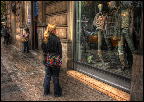 Barcelona Window Shopping