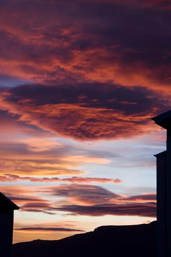 sunset sky clouds sunrise iceland colours reykjavik incredible aftermidnight inmygarden olikristinn