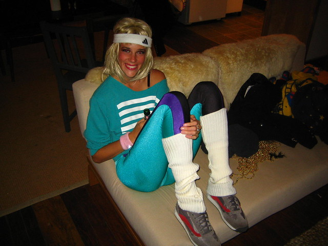 80s Aerobic Instructor Costume