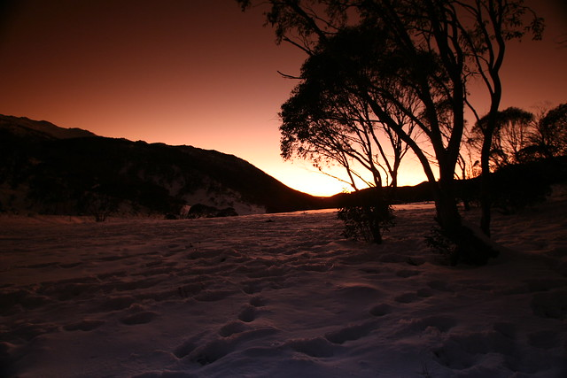 Sunrise @ Thredbo's Dead Horse Gap