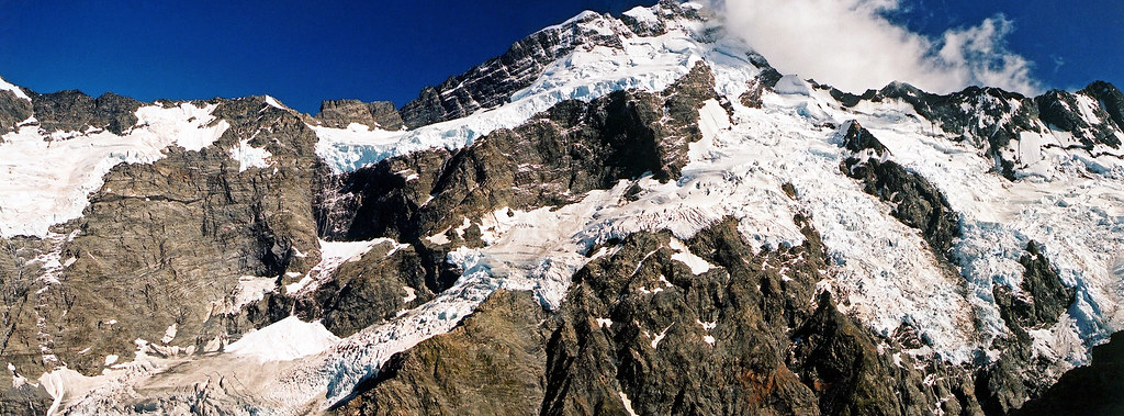 Mt Sefton in widescreen