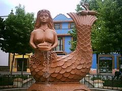 La Clanchana en la plaza de Metepec