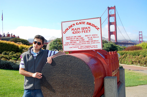 Tourist at the Bridge