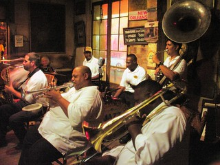 New Birth Brass Band in Preservation Hall