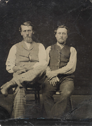 Two men, ca. 1856-1900.