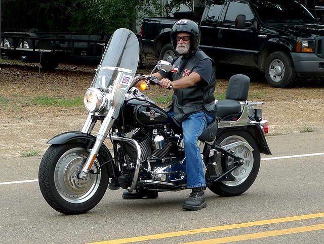 Harley Fat Boy Rider |...