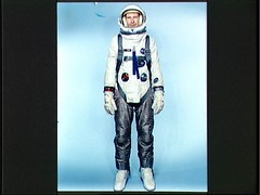 Gemini 9 configured extravehicular spacesuit assembly