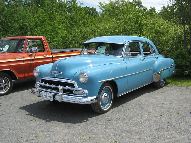 1952 chevrolet 4 door sedan flickr photo sharing