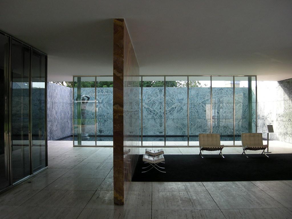 Petra dura architettura e contorni padiglione tedesco for Arredi sketchup
