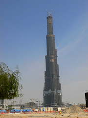 not finished yet already the tallest building in the world