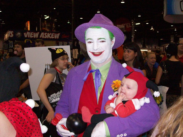Joker and baby Harley Quinn at Wizard World 2007 Chicago #2 of 2