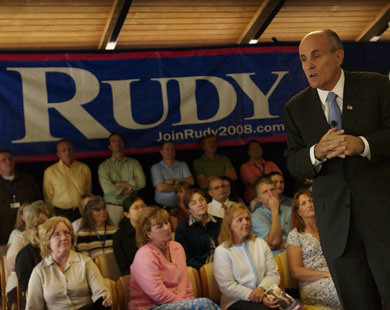 Rudy in New Hampshire
